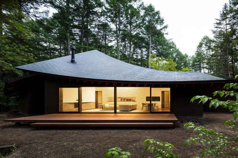 Four Leaves Villa, Kias architects, Japan