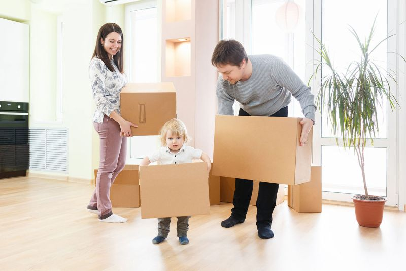 Keeping Kids safe and Happy for Moving Day