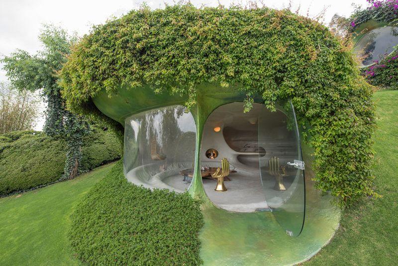 Organic House, Javier Senosiain, Mexico