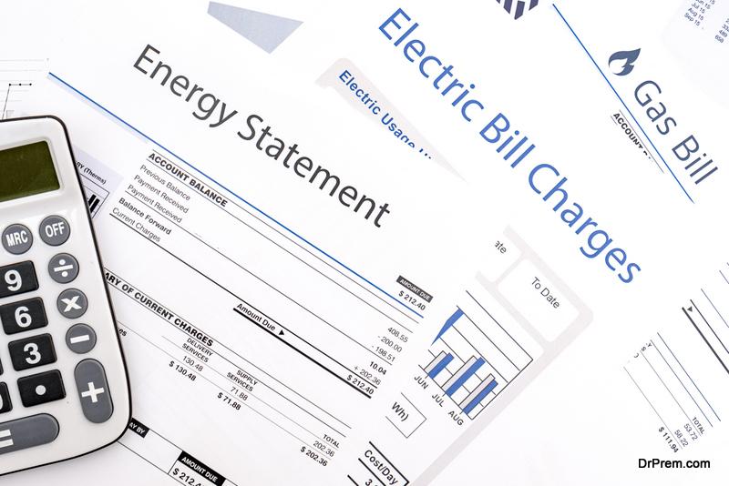 Saving on utility costs