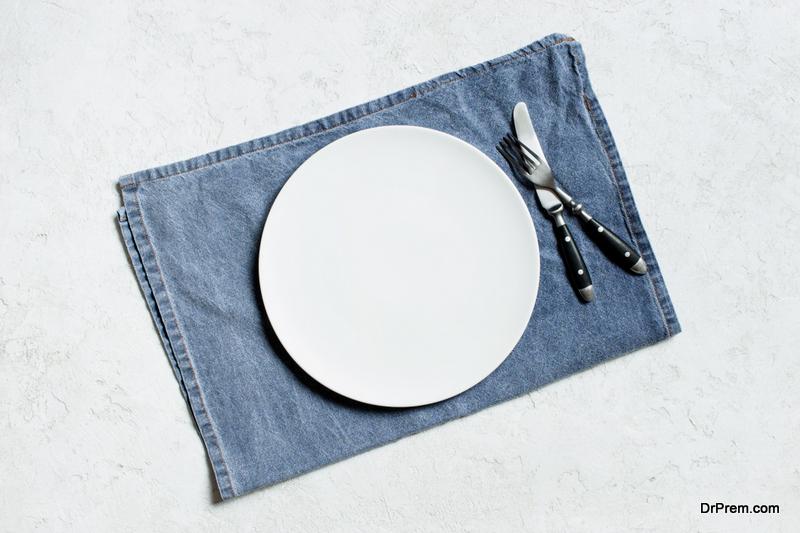 Denim napkins