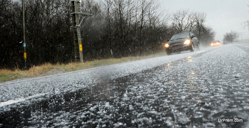 Hail storms are not an uncommon occurrence in the Rockies