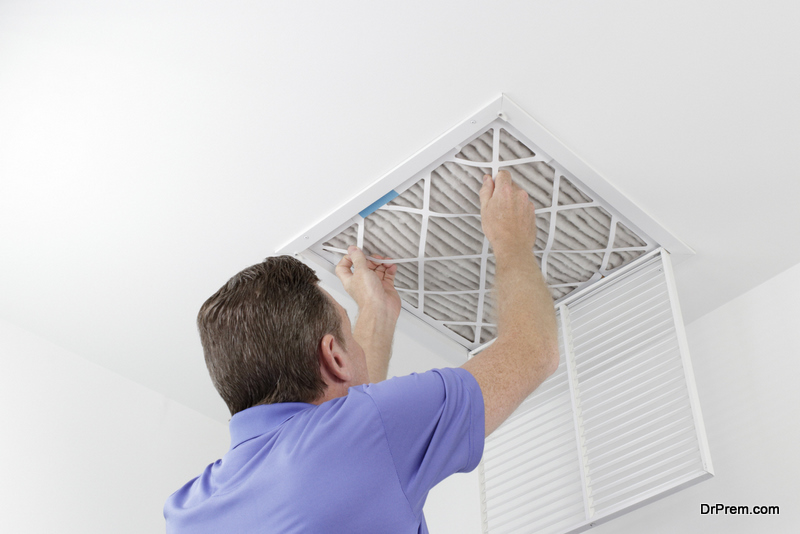 Check and Clean the Air Filters