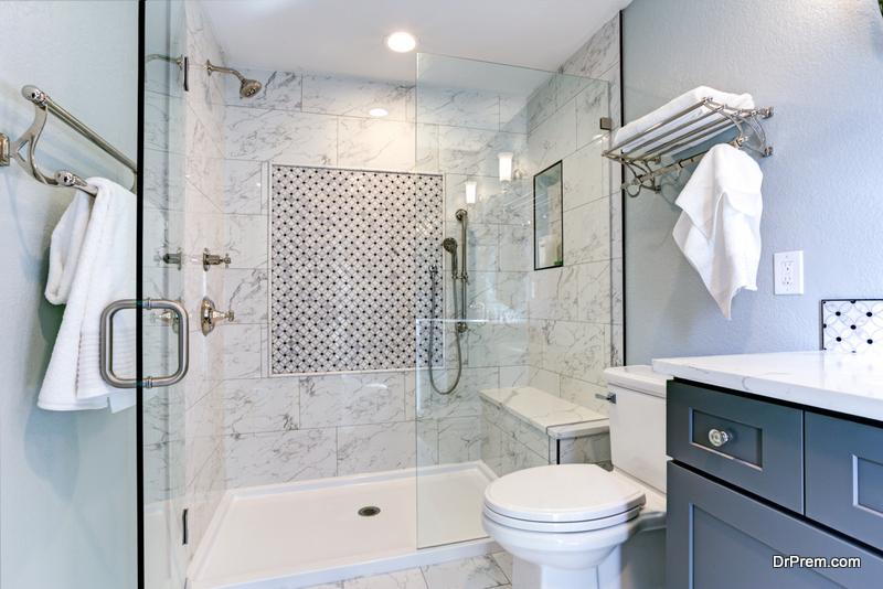 Freshening up Bathrooms