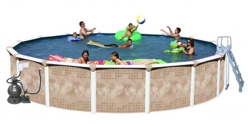 "Splash Pools Oval Deluxe 30' x 15' x 32"" Model"