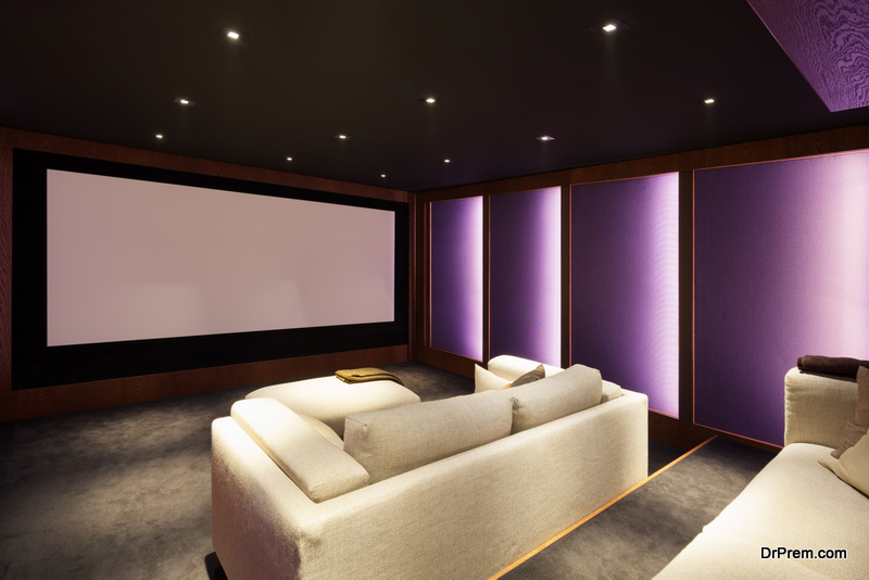 Suitable Furniture for Your Home Theater