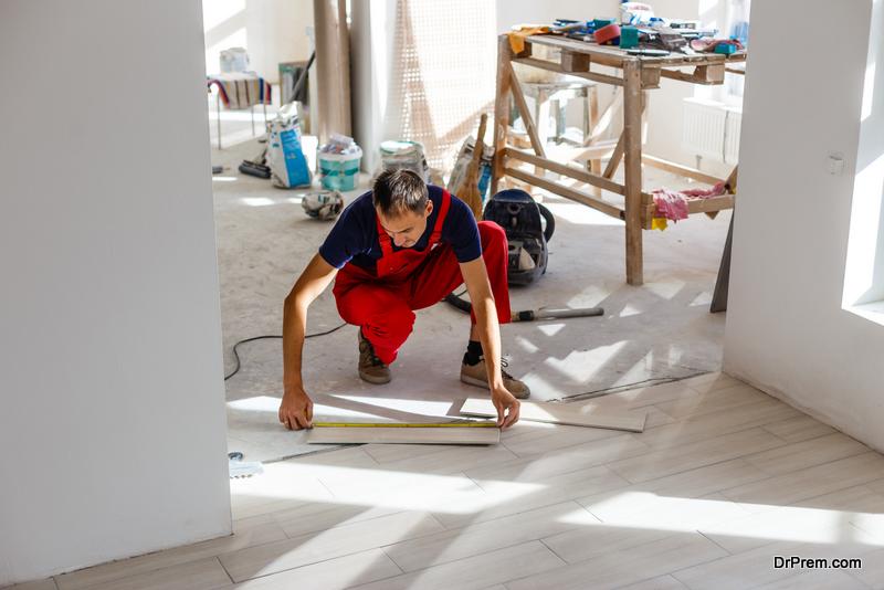 Work on the Floors