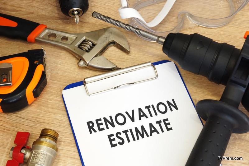 renovation budget