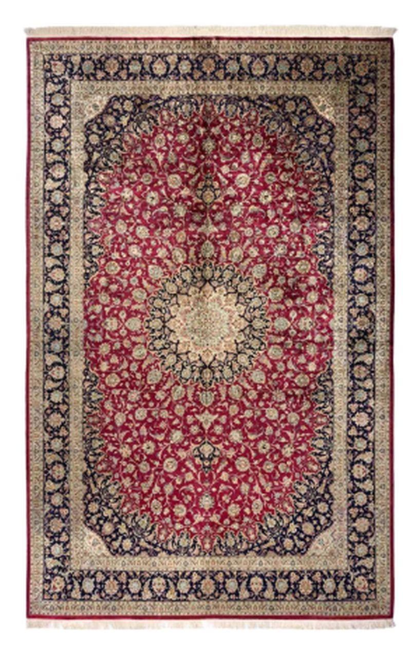 Fringes of the carpet