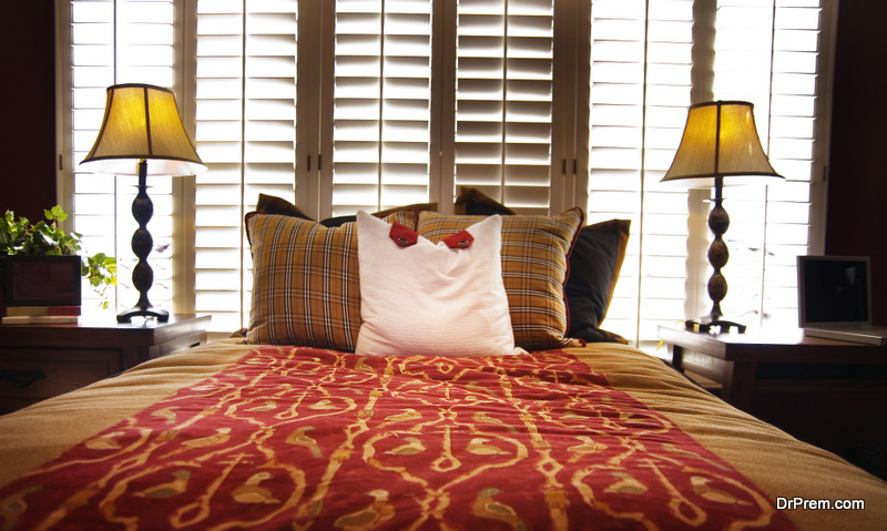 Shutters Are a Winning Choice for Your Bedroom