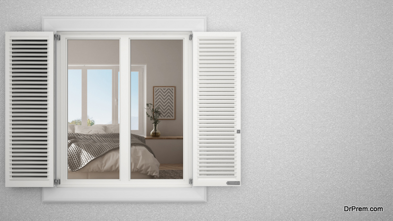 Shutters block out noise