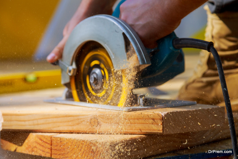 carpentry involves a wide variety of construction and building works