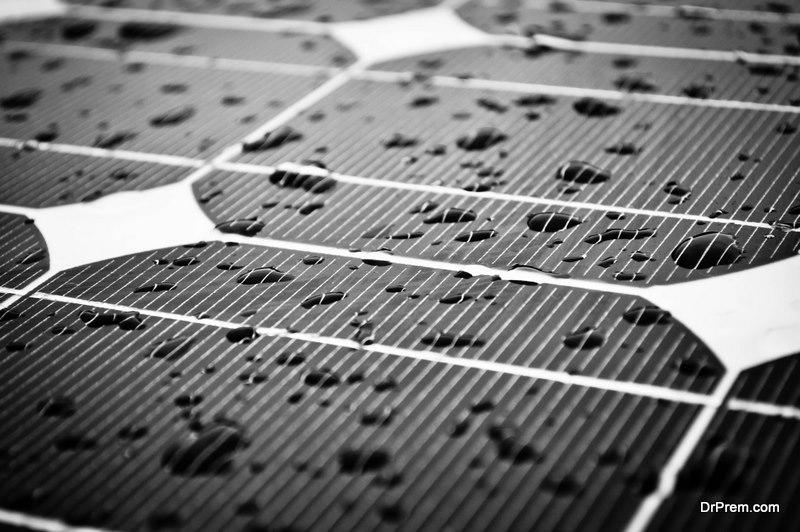 Wet Solar Panel