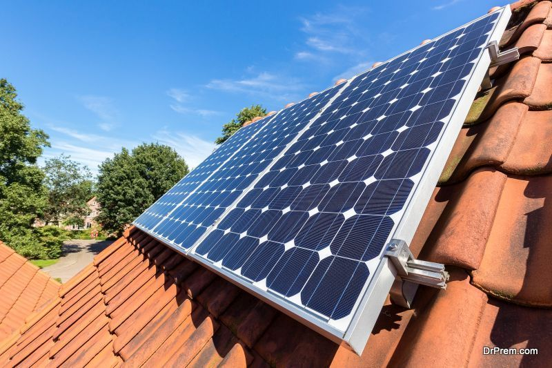 Townhomes Have Solar Panels too