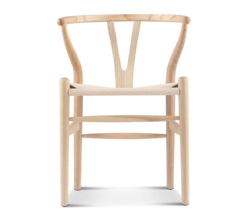 The timeless Wishbone chair