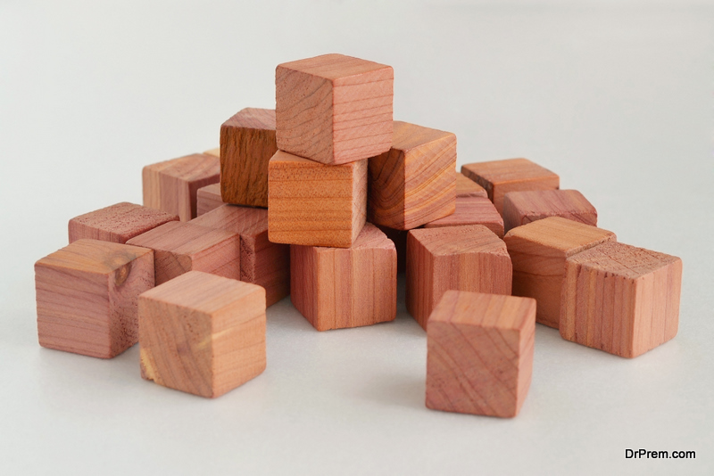 cedar blocks Natural Moth Repellant