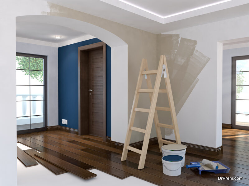 renovation of house