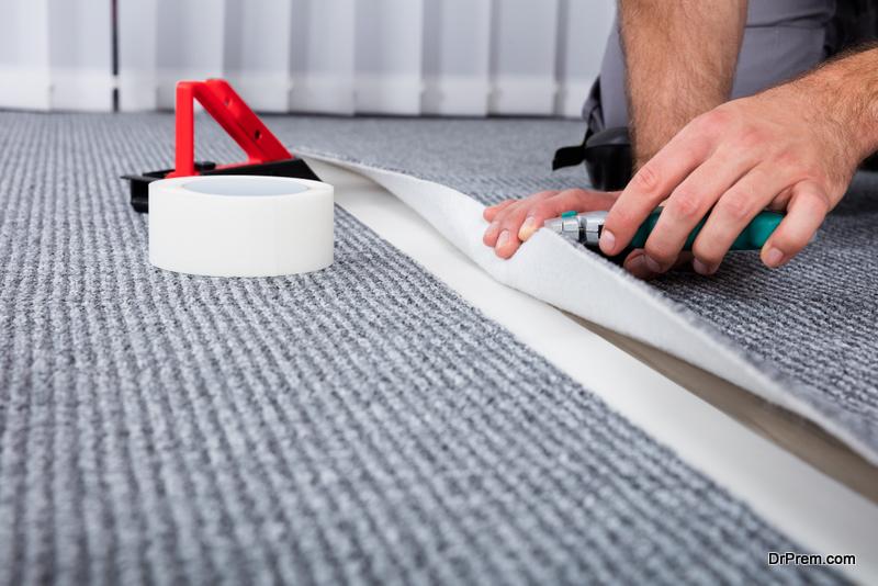 Installing a Carpet
