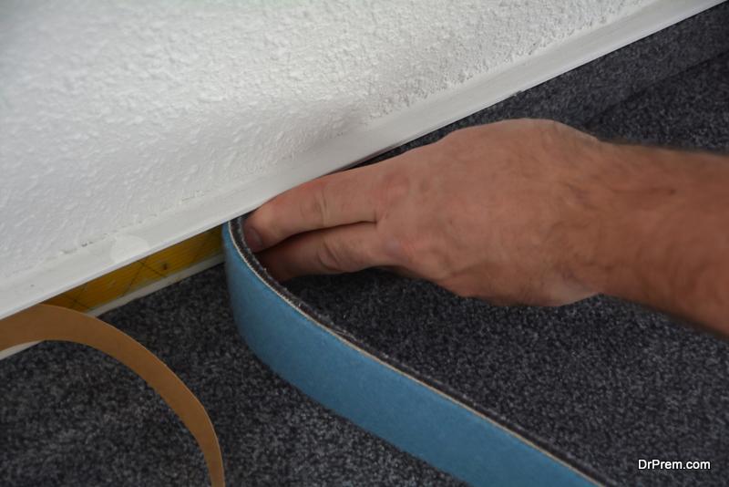 fashionable carpet installation