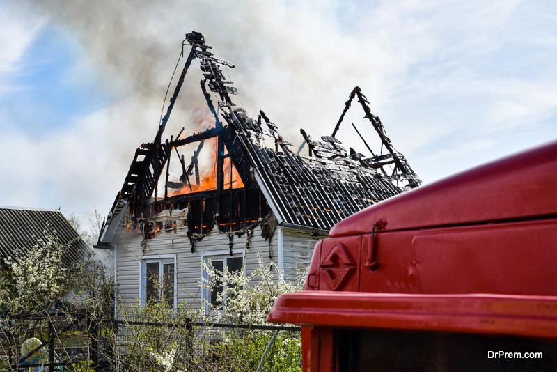 residential disaster