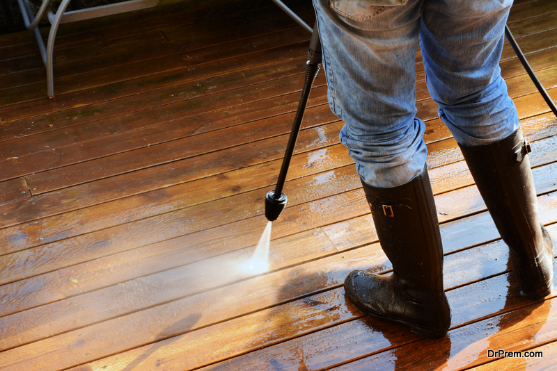 Caring For a Timber Deck