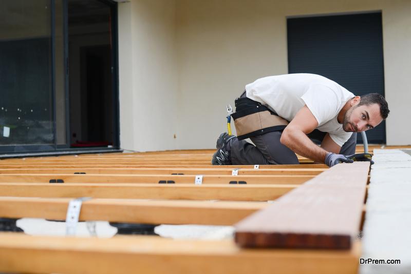 Installing Timber Deck