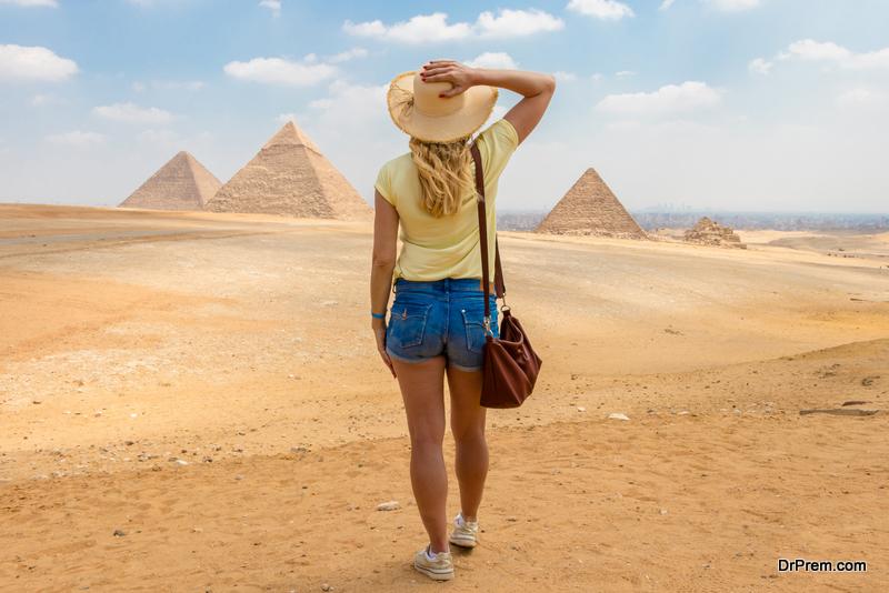 Egyptian Pyramids Had Plumbing