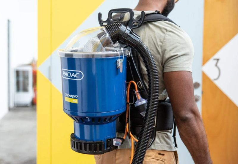 Cleaning Your House Happens Faster With a Backpack Vacuum