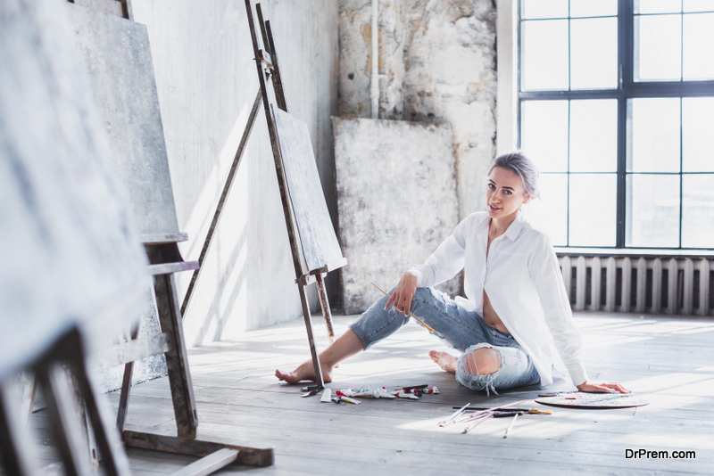 Creating the Perfect Art Studio at Home