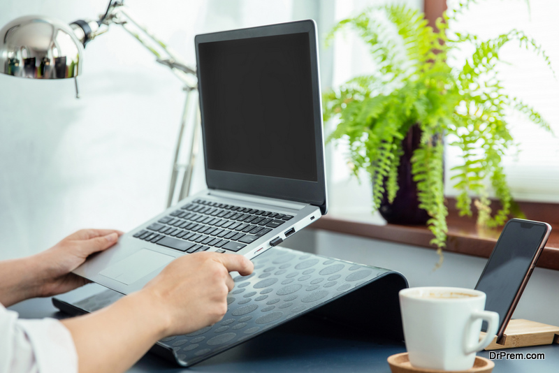 A Laptop Stand