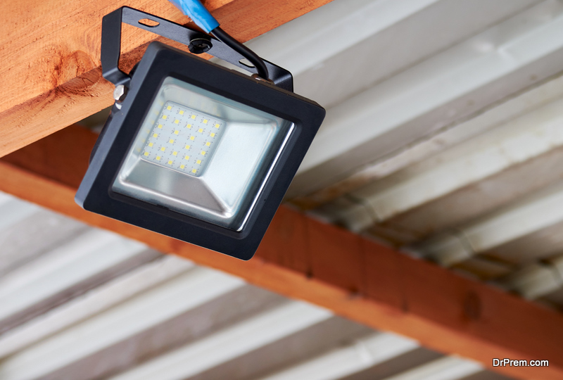 LED-LIGHTS consume only a fraction of the energy