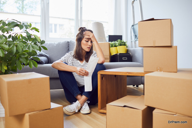 Moving homes is stressful