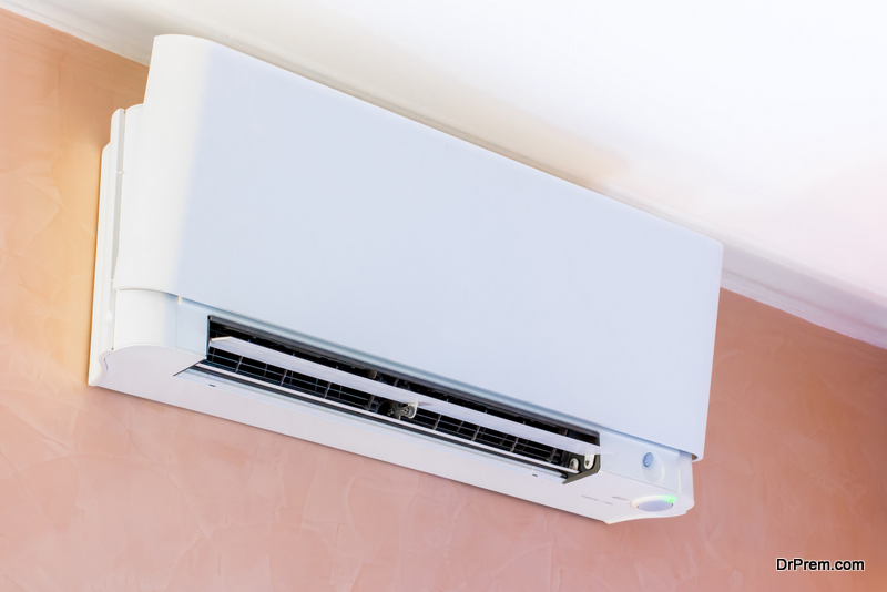 new air-conditioning unit