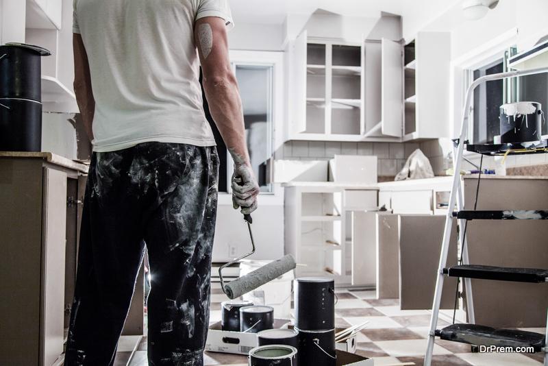 Kitchen Paint Job
