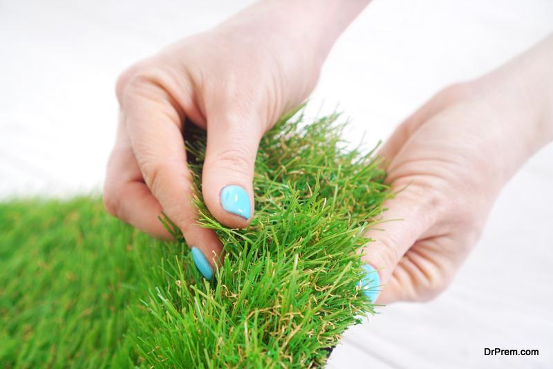 infill material of artificial grass